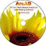 dc arc flash software