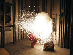 Electrical explosions | Electric Arc on power explosion, spring explosion, capacitor explosion,
