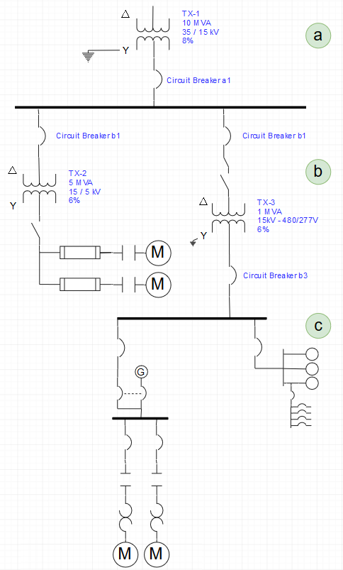how to read single one line diagram electric arc rh arcadvisor com